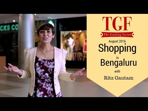 Shopping in Bangalore, India | August 2016 | Shopping places