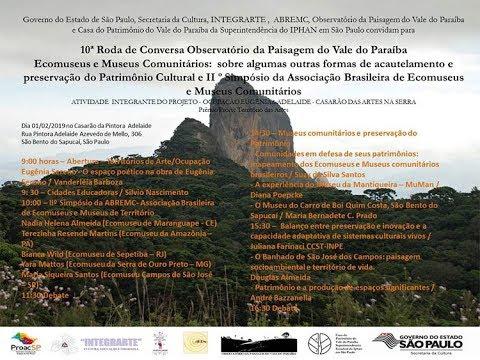 10ª Roda de Conversa do Observatório da Paisagem do Vale do Paraíba