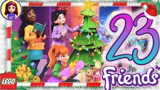 Day 23 Build your Christmas Tree Decorations - Lego Friends Advent Calendar 2018
