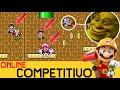 ASÍ QUEDAS CUANDO LO INEVITABLE PASA - COMPETITIVO ONLINE     | Super Mario Maker   - ZetaSSJ