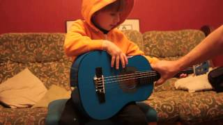 First Introduction to Classical Guitar for Children - Part 1a