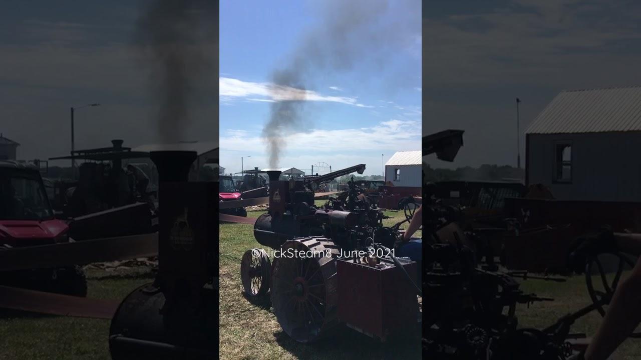 Mini Steam Engine Working Hard