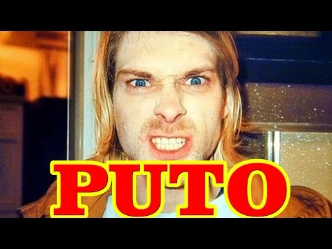 Kurt Cobain PUTO DA VIDA! - compilado