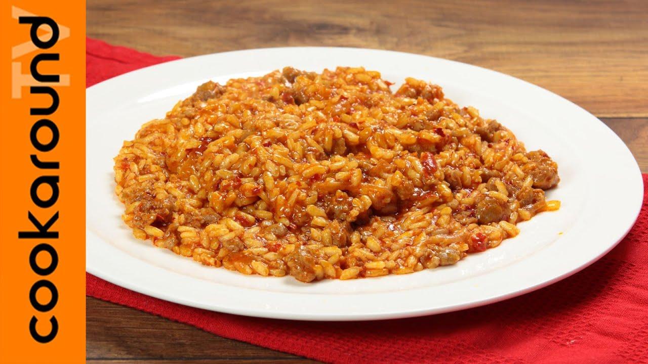 Risotto salsiccia e 39 nduja ricette risotti sfiziosi for Ricette risotti