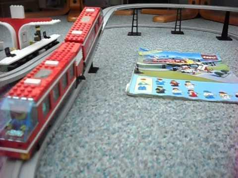 Lego Airport Shuttle 6399 Youtube