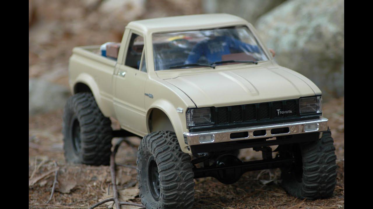 Modified pickup trucks
