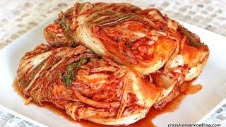 How to make Kimchi (cabbage) and Kkakdugi (radish Kimchi), 김치 & 깍두기 (Kimchi Recipe)