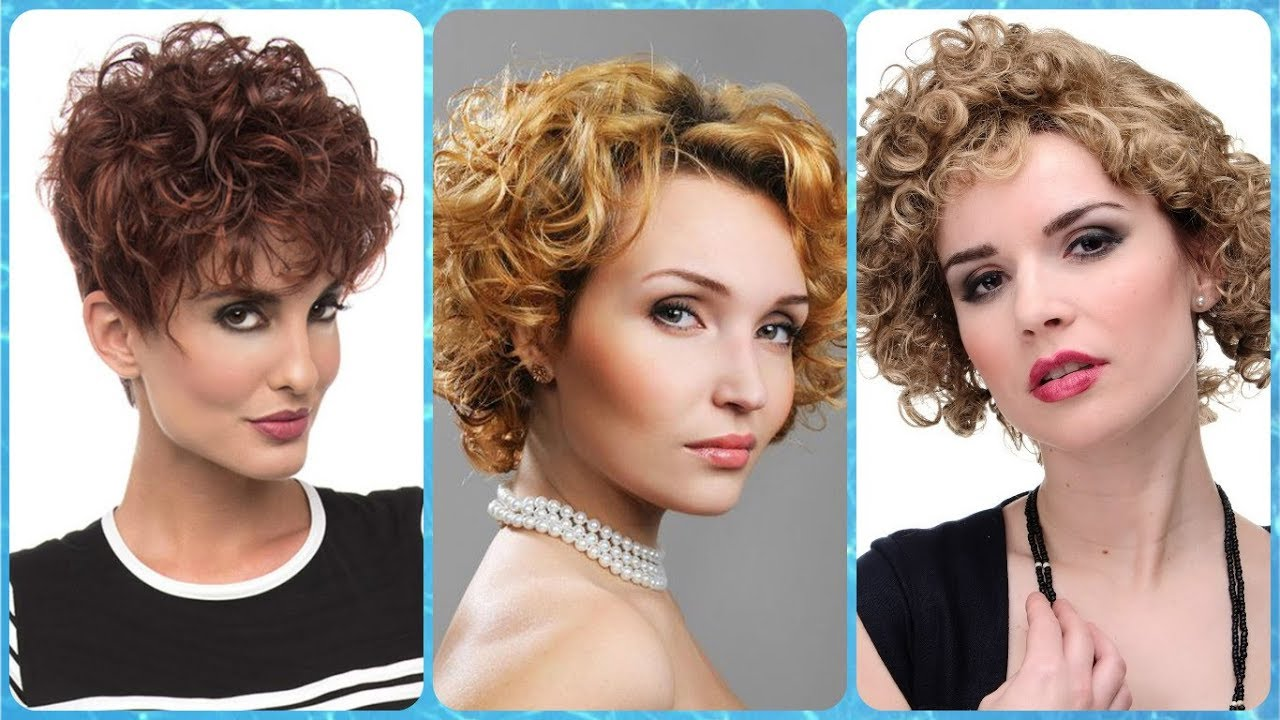 Unsere Top 20 Kurzhaarfrisuren Lockiges Haar Damen