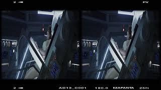 """""""Dr. Shaw Escena de la Cesarea"""" Alien, 3D SBS VR format"""