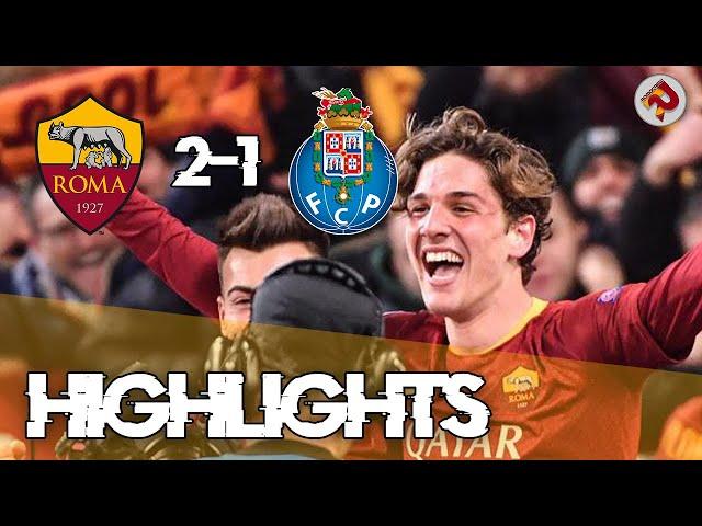 ROMA 2-1 PORTO | Highlights