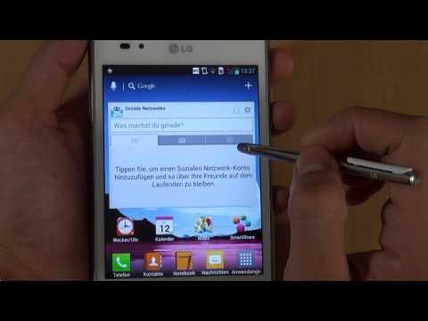 LG P895 Optimus Vu - Bedienung - Teil 2
