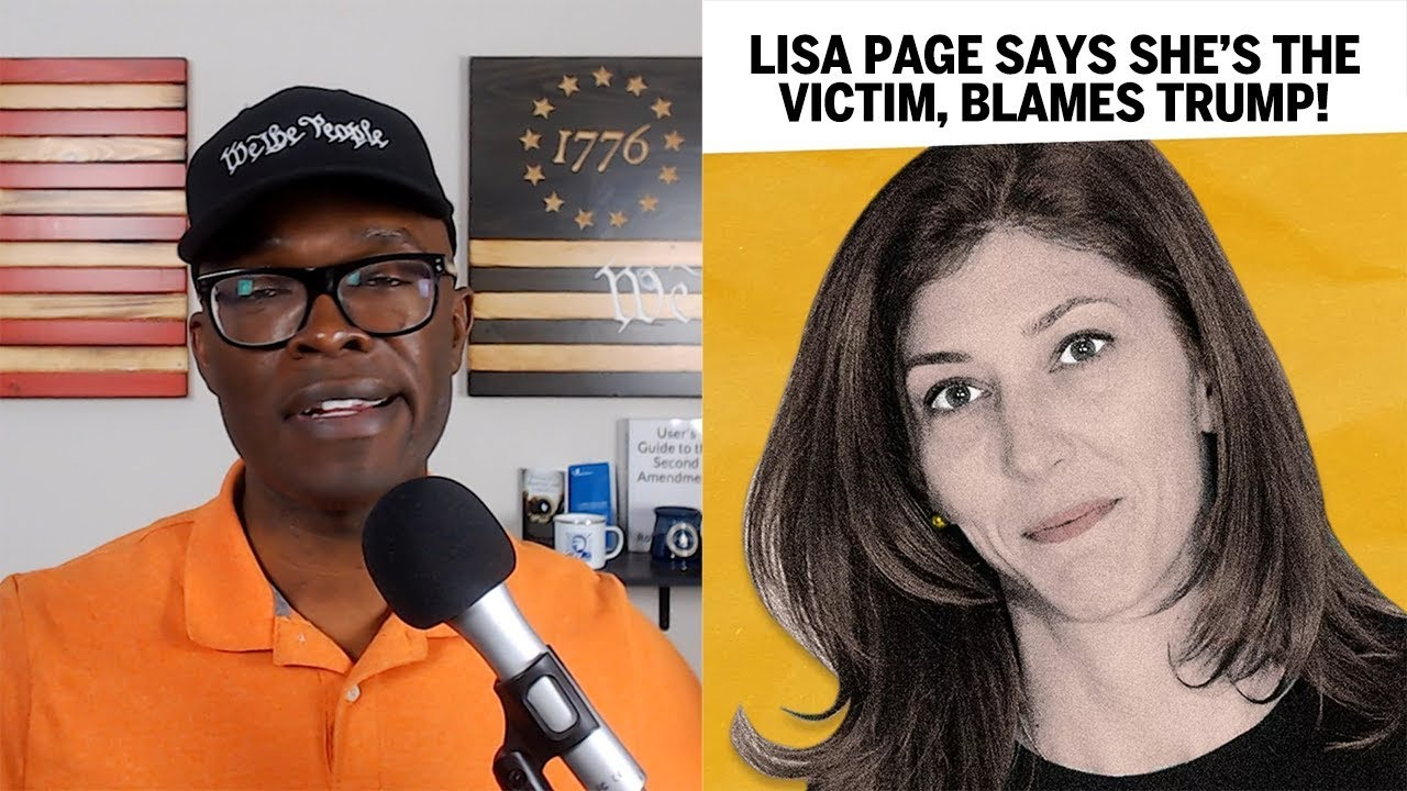 Lisa Page Says SHE Is The Victim, I Can't Tell - ABL
