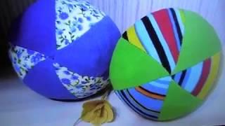 Мягкий детский мячик своими руками / Soft children's ball with their hands