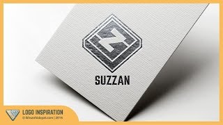 Logo Inspiration | Creating Suzzan [SZ] Logo