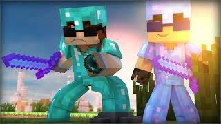Minecraft: DANDO RAGE NA PARTIDA-SKY WARS c/GodHenrique
