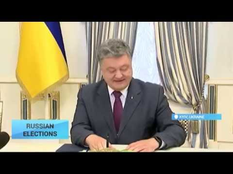 Legitimacy of Russian Elections Questioned: Poroshenko urges not to recognize upcoming polls