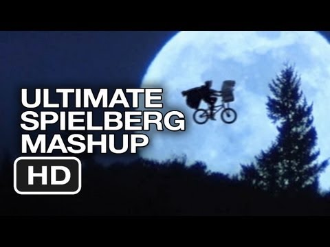 Steven Spielberg Ultimate Mashup - E.T. The Extra-Terrestrial, Jurassic Park MASHUP HD