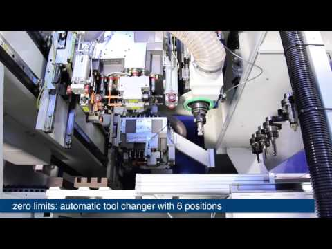 Mademaq : Taladro a CNC Morbidelli Cyflex HP - SCM Group
