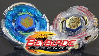 BATTLE: Storm Pegasus 105RF VS Lightning L-Drago 100HF - Beyblade Legends/Metal Fusion