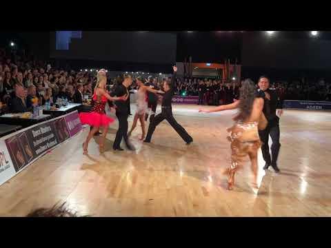 Dutch Open Assen 2017 Professional Latin SF Samba Dorin & Marina, Sarunas & Viktorija, Nino & Andra