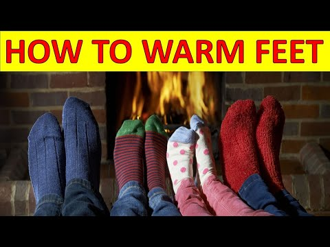 How To Warm Feet Up Naturally & Quickly In Bed At Winter