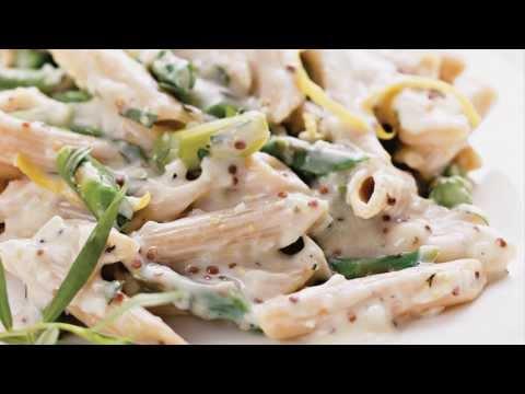 Healthy Creamy Asparagus Pasta Recipe