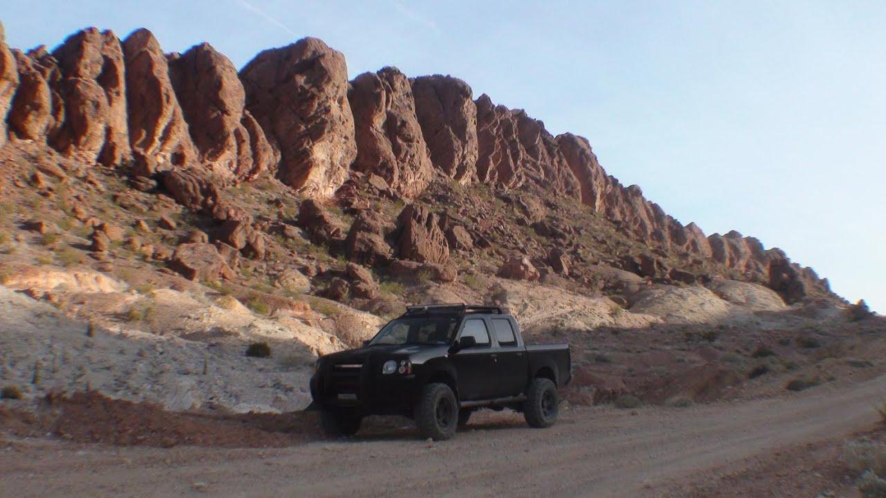 Lava Butte Road, Las Vegas Nevada (trail Ride 2003 Nissan Frontier 2wd)    YouTube