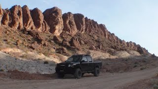 Lava Butte Road, Las Vegas Nevada (trail ride 2003 Nissan Frontier 2wd)