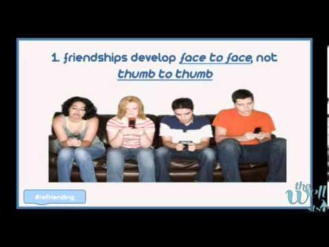 reFriending Part 1 - The Lost Art of Friendship