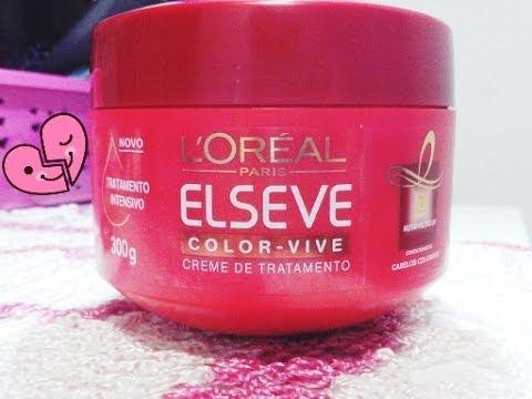 5699c06be ♥Mascara Elseve Color Vive :Para CabelosTingidos ♥ - YouTube