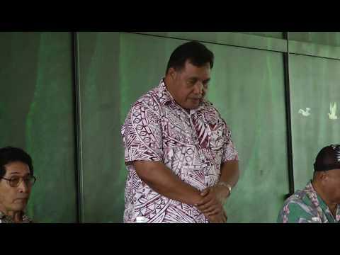 Chuuk Political Status Commission - ESG (Honolulu, Hawaii - Day 1)