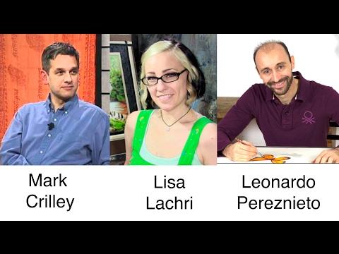 Mastermind Session With Mark Crilley, Lisa Lachri and Leonardo Pereznieto