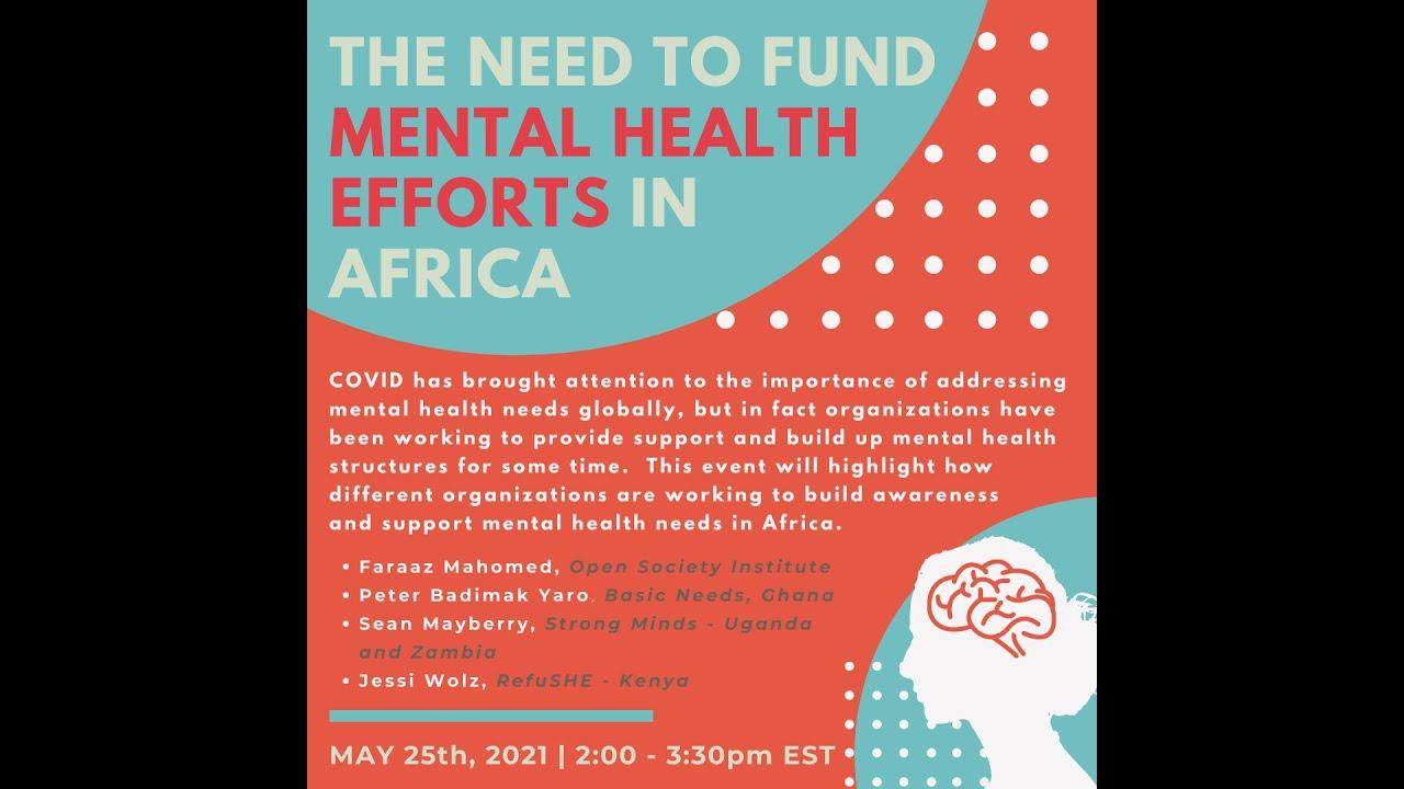 Funding Mental Health Efforts in Africa