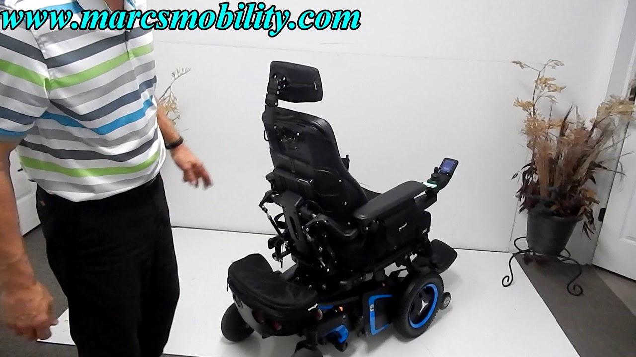 3 Lift Kit >> Permobil F5 with Seat Lift, Tilt, Recline, Legs & Light Kit - YouTube