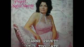 """JEANNE PRUETT - """"IT'S TOO LATE""""(1980)"""