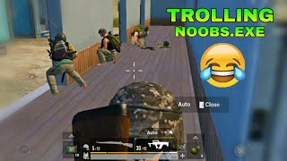 10Mintues Trolling of  Noobs In Pubg 😂 | PUBG FUNNY Video