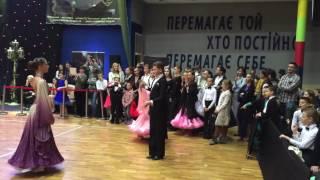 Зеленова Александра и Фальшовник Александр. Фокстрот