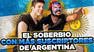 Lucas Castel y Escorpión Dorado Al Volante (grupos argentinos vs mexicanos)
