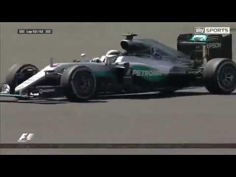 Lewis Hamilton wins Silverstone British Grand Prix 2016 - SKY SPORTS