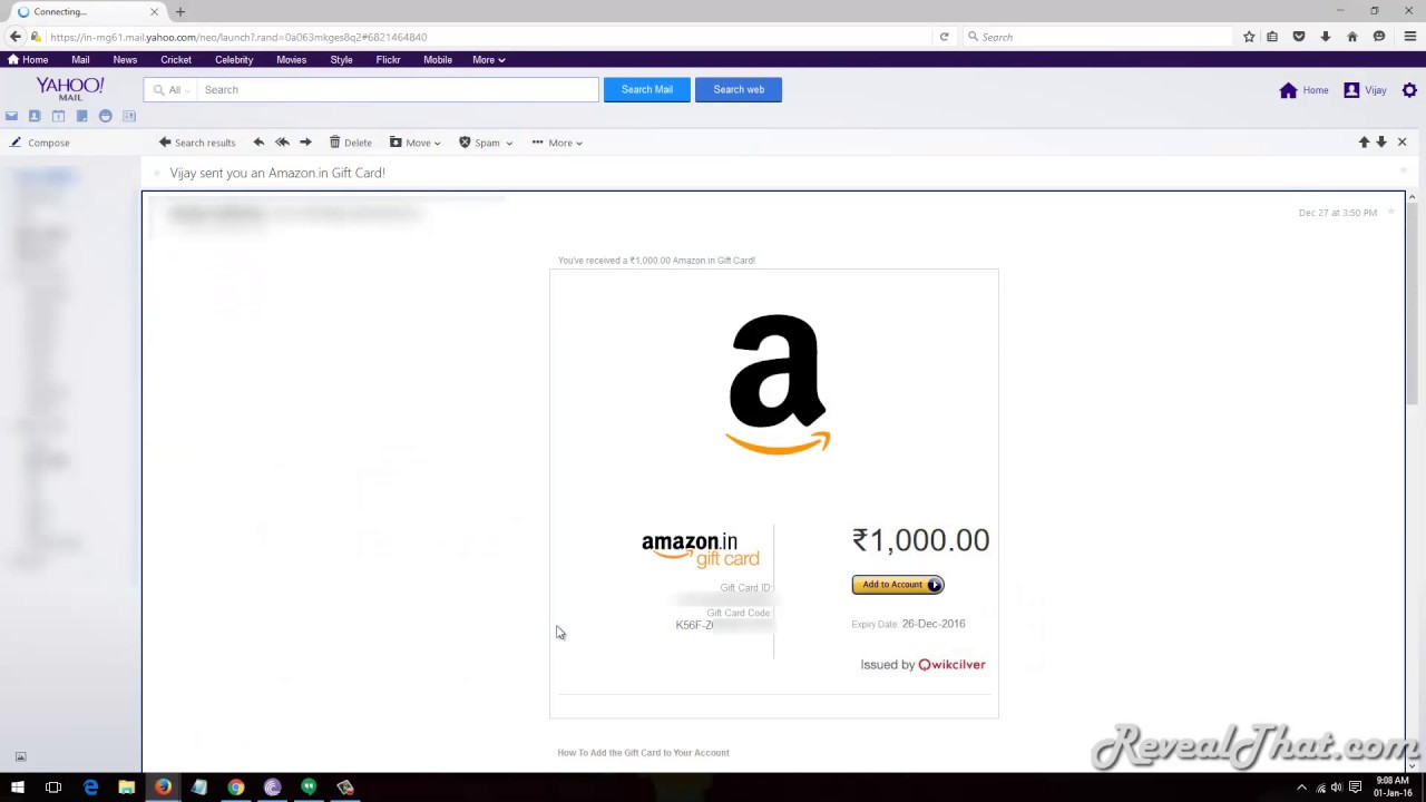 How to Add Amazon Gift Card to Your Amazon Account - YouTube