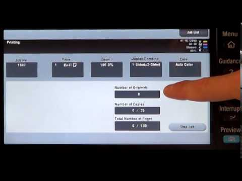 MFP Job Shops - Proof Printing Function (Preview Button)