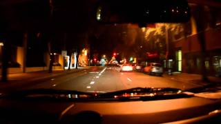 Nikon D7000 Driving At Night (2)