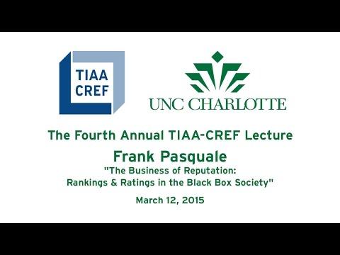 The Fourth Annual TIAA-CREF Lecture