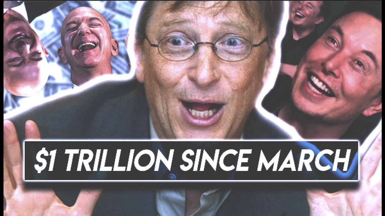 Billionaires Became ONE TRILLION DOLLARS Richer in 2020
