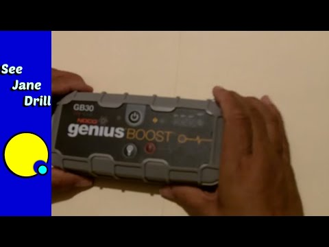 How To Jump Start A Car Battery Without Another Car Youtube