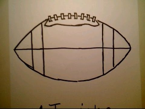 how to draw a football fifa como didujar una pelota de futbol helmet jersey youtube