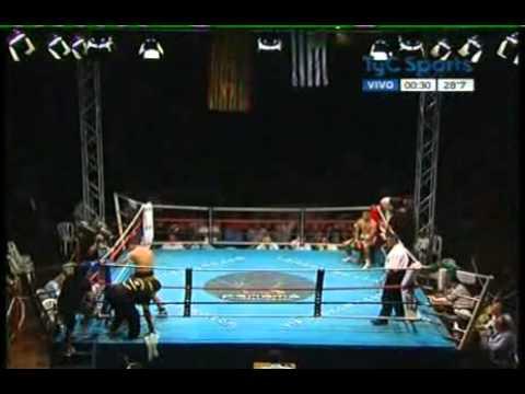 Luis TEJERINA vs Cesar MILLA - Full Fight - Pelea Completa