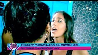 AMOR AMOR AMOR 03/03/16 CHRIS SOIFER Y STEPHANY LOZA SE DIJERON DE TODO Y CASI SE VAN A LAS MANOS