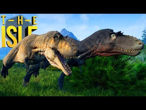 The Isle Realismo - Caçando Bebê Stegosaurus, Grupo De Albertosaurus! | (#151) (PT-BR)
