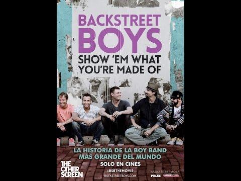 Backstreet Boys Show´em what you´re made of-SOLO EN CINES